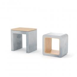 chocofur blender 3D model Stools Concrete 21