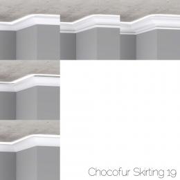 chocofur blender 3D model Skirting Skirting 19