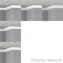 chocofur blender 3D model Skirting Skirting 16
