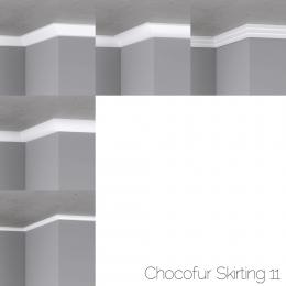 chocofur blender 3D model Skirting Skirting 11
