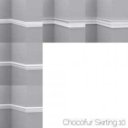 chocofur blender 3D model Skirting Skirting 10